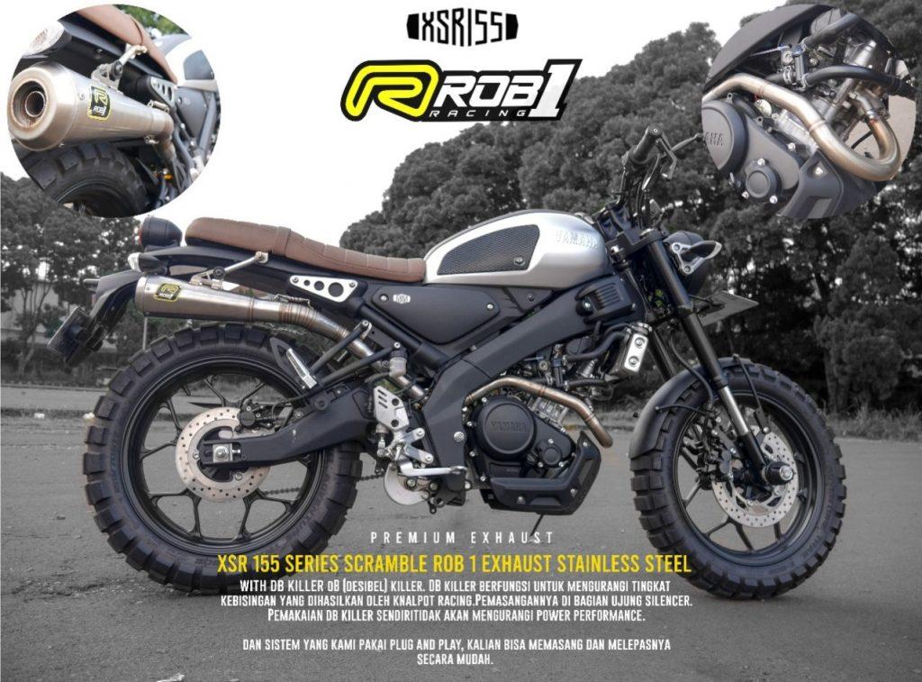 ROB1 Exhaust for Yamaha XSR 155