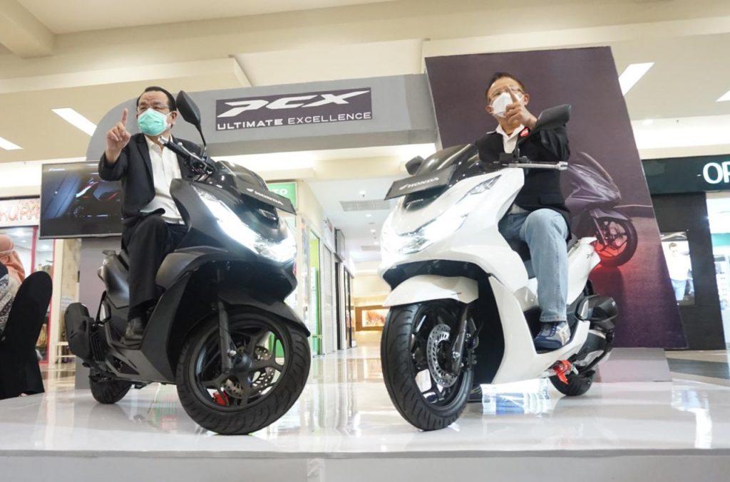 All New Honda PCX Meluncur Di Jatim & NTT