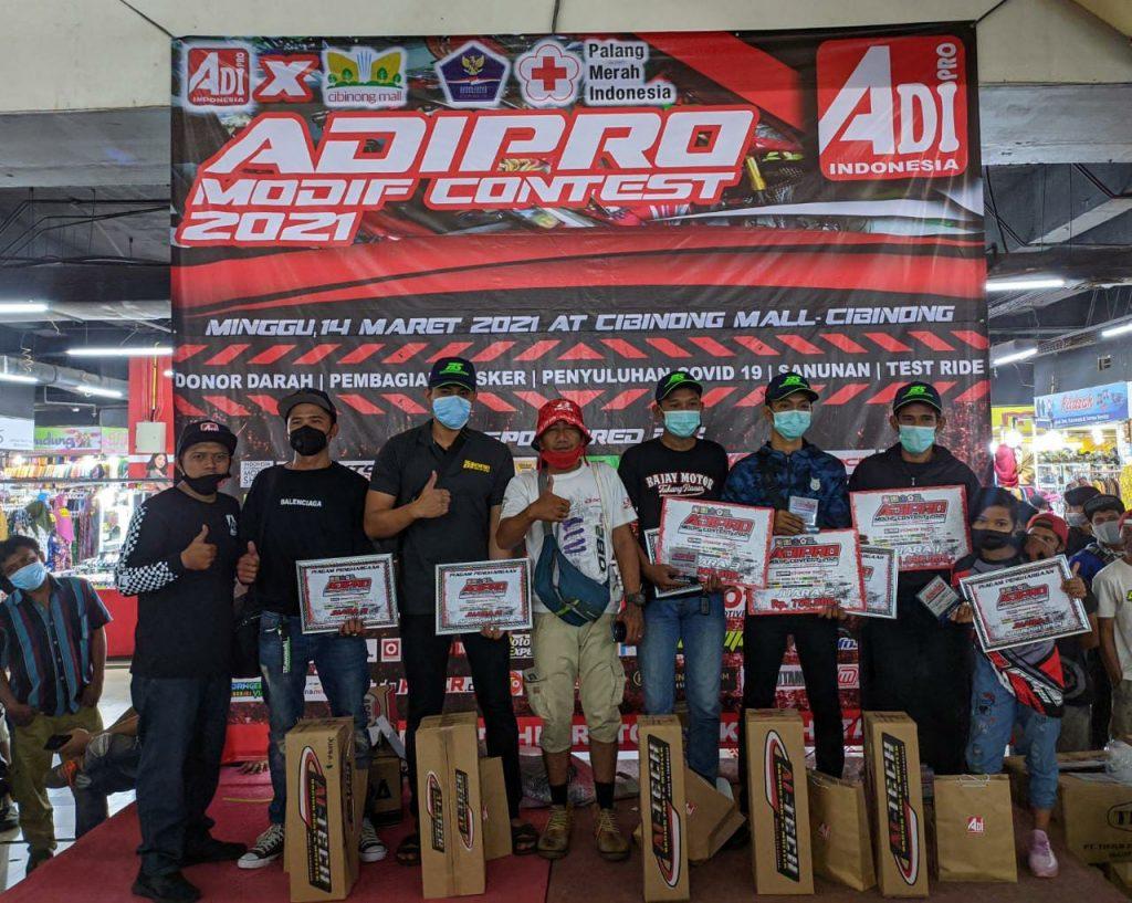Adi Pro Modif Contest 2021, Sukses Digelar