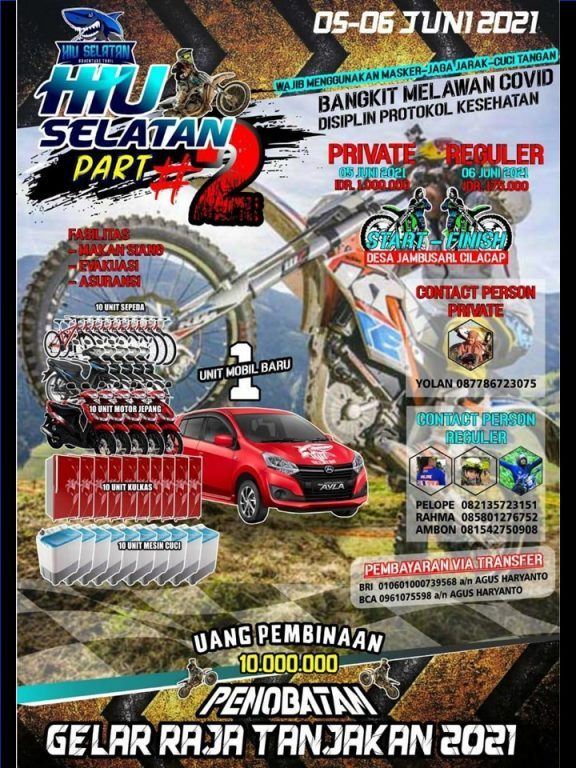Hiu Selatan Part 2 Trail Event 5 Jun 2021
