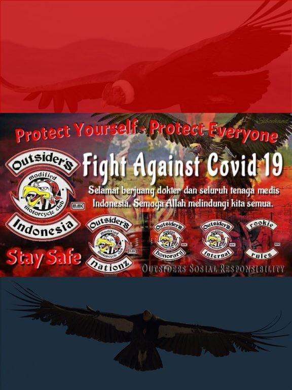 MMC Outsiders Indonesia Fight Against Covid19 Poster