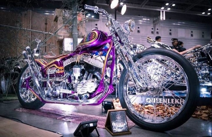 Cool Bike di Mooneyes Hot Rod Custom Yokohama 2018
