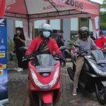 MPM Honda Jatim Test Ride All New Honda PCX Berhadiah Motor