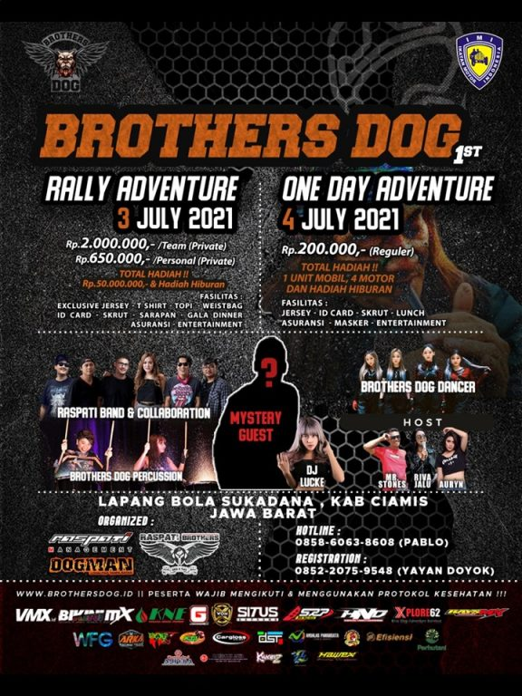 Brothers Dog Rally Adventure 3-4 July 2021