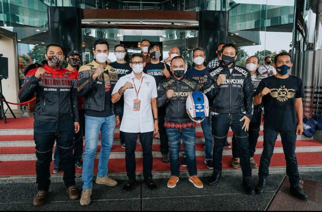 Belajar Helm Dukung Touring Wonderful Ride by DennyKoi