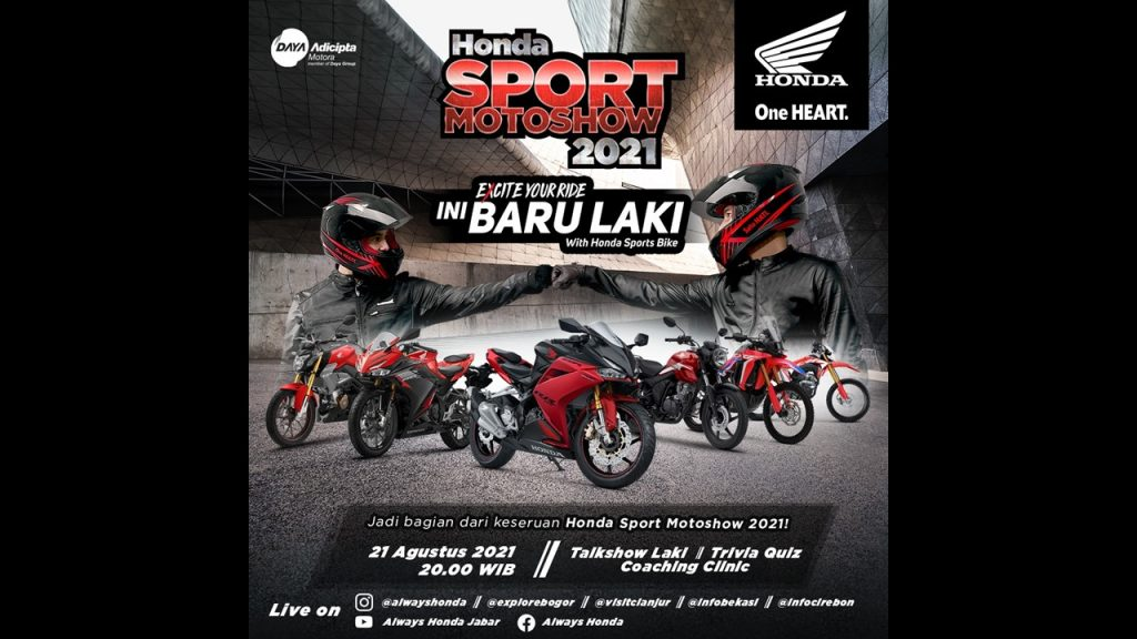 Honda Sport MotoShow 2021 PT Daya Adicipta Motora