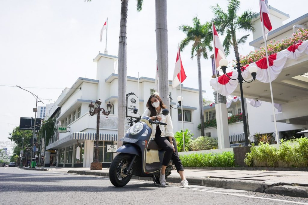 SCOOPY INDEPENDENCE DAY CITY RIDE, Seru!