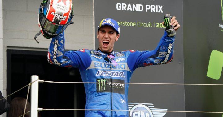 Alex Rins Silverstone British GP 2021