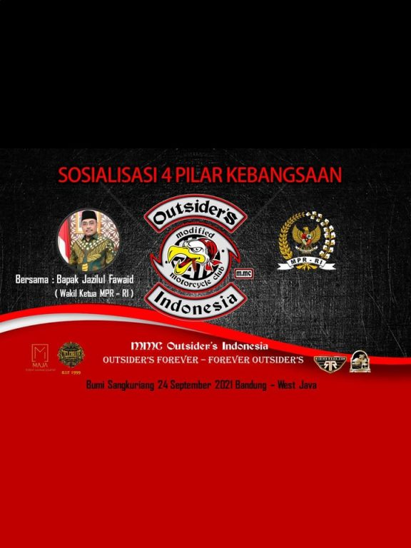 MMC Outsiders Indonesia Sosialisasi 4 Pilar Kebangsaan