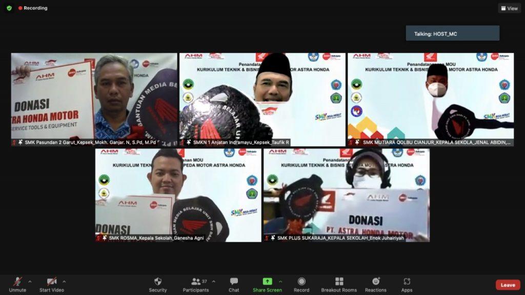 SMK Binaan Astra-Honda Semakin Tersebar di Jawa Barat