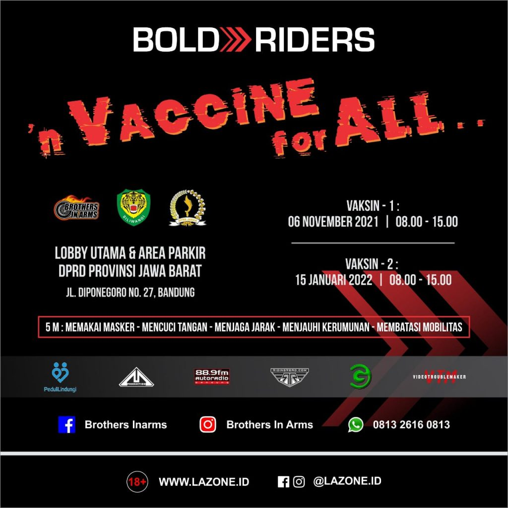 Brothers in Arms  N VACCINE FOR ALL