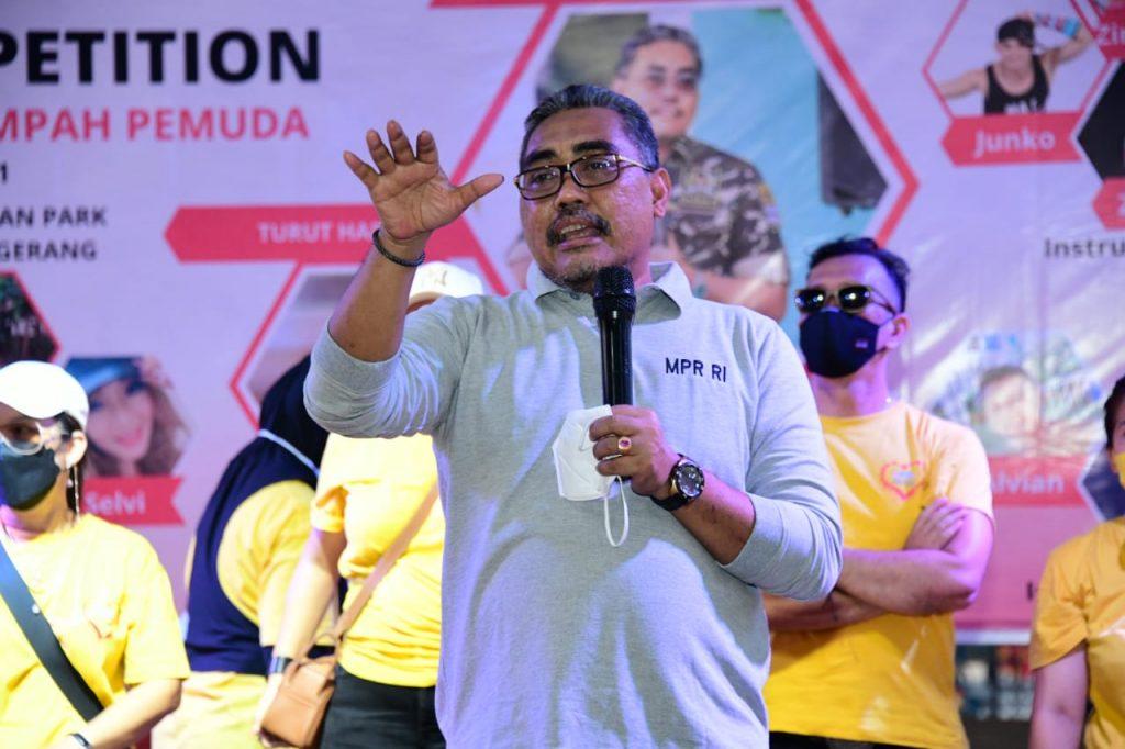 Zumba Party dan Aerobic CompetitionSERU DENGAN DANCE KREASI NUSANTARA by Isfandiari MD